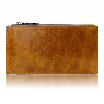 Women Genuine Leather Card Holder Wallet Purse Clutches Bag