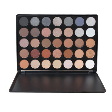 35 Color Eyeshadow Palette Earth Warm Color Shimmer Matte Eye Shadow Cosmetic Beauty Makeup Set