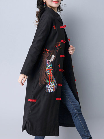Embroidered Chinese Style Coats