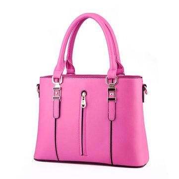 Женская элегантная сумка на плечах большой емкости