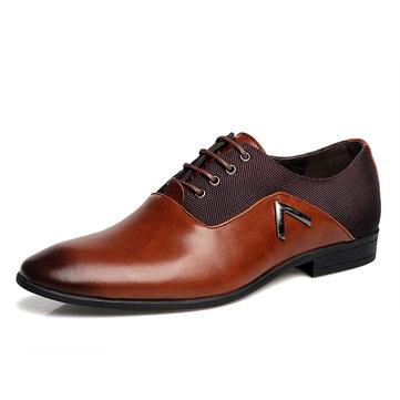 Homme Chaussures Richelieu Bicolorées Classiques À Lacet Chaussures Habillées Pointure Large Pour Homme