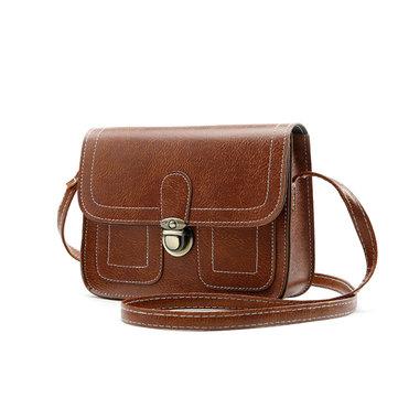 Women Stylish PU Leather 6.5inch Phone Bag Crossbody Bag Shoulder Bags