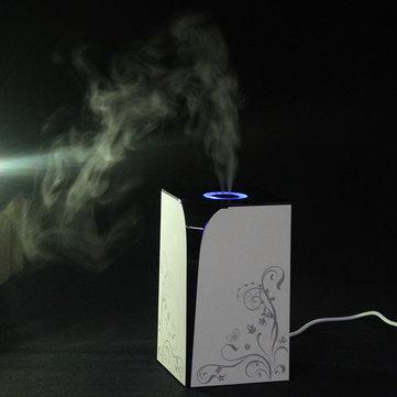 USB Mini Ultrasonic Air Purifier Humidifier Elegant Diffuser Portable