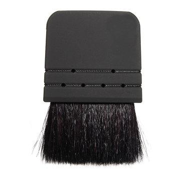 Black Goat Hair Flat Makeup Brush Blush Foundation Tool