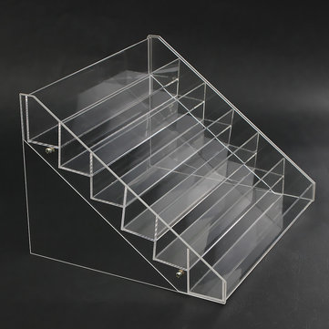 6 Tier 48 Flaschen Clear Acryl Rack Organizer Nagellack Display Stand