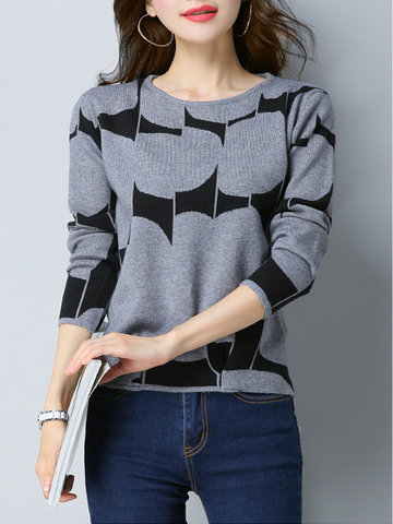 Autumn Casual Knitted Sweaters