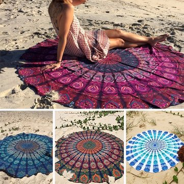 Bohemian Style Thin Chiffon Beach Yoga Towel