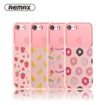 Remax AMON Series Protective Case Pink Anti-Knock Back Cover For iPhone 7 7 Plus