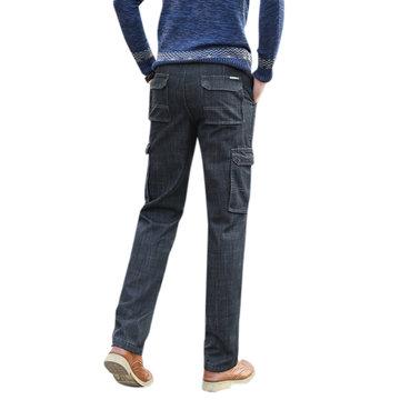 Inside Fleece Pockets Straight Jean