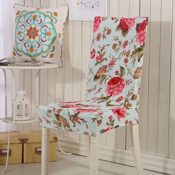 Removable Dining Chair Cover Protector Elasticity Seat Cover