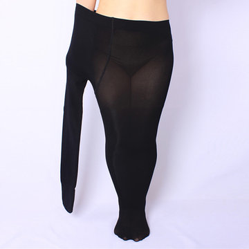Plus Size Sexy High Elastic Breathable Pantynose Leg Shaper Pantynose For Women