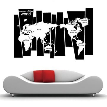 World map print dresses fashion online sale at newchic black travel world map poster sticker personalized travel vacation map gumiabroncs Choice Image
