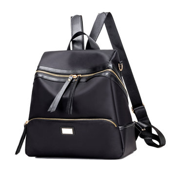Women Men Nylon Black Gray Blue Casual School Bag Shoulder Bags Backpack