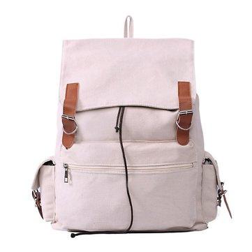 Toile Backpack Voyage Loisirs grande capacité Sac à bandoulière