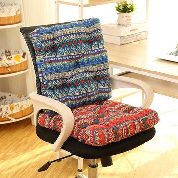 Buy Bohemian Style Cotton Linen Chair Seat Sofa Coffee Table Cover Bedroom Yoga Back Cushion