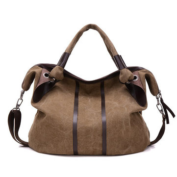 Women Canvas Large Capacity Casual Handbag Shoulder Bags Crossbody Bags