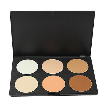 6 Colors Eye Face Concealer Cream Camouflage Makeup Palette