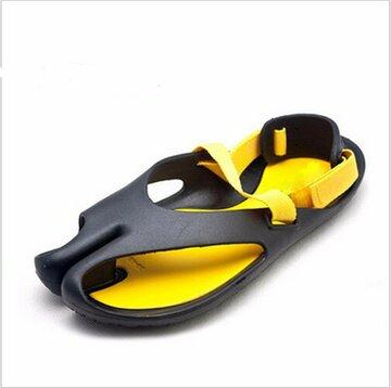 Casual Beach Soft PU смешанных цветов слайдов дышащий флип-флоп сандалии для мужчин