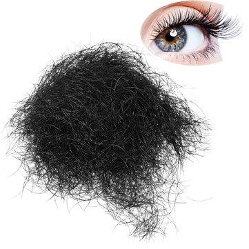 1 Pack Black Loose Индивидуальные накладные ресницы Длинные натуральные 8мм 12мм клей для макияжа для глаз