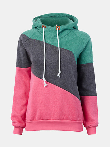 Gracila Polo Neck Warm Long Sleeve Hoodie Sweatshirt Jumper