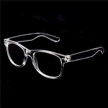 Мужские очки для женщин с оправой Vintage Transparent Glasses Retro UV400 Гладкая линза с оптикой