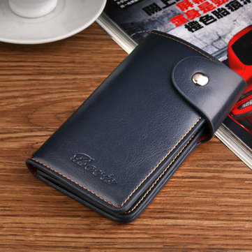 PU Leather Large Capacity Wallet Purse