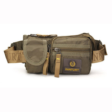 Men Oxford Multifunctional Outdoor Waist Bags Vintage Casual Shoulder Bags