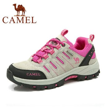 Camel Color Match Mesh Breathable Outdoor Anti Skip Lace Up Спортивная обувь для походов