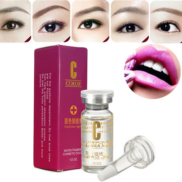 Fixed-line Agent Microblading Eyebrow Pigment Permanent Makeup Ink Color 15ml