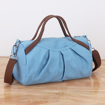 Women Canvas Handbag Tote Bag Casual Travel Dufel