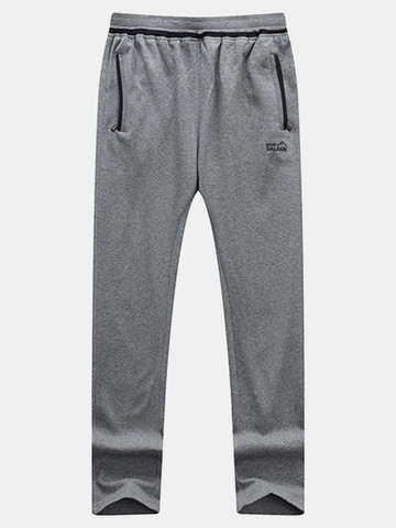 Casual Cotton Sport Pants Thin Breathable Basketball Running Sweatpants For Men