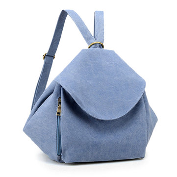 Multifunctional Canvas Casual Shoulder Bag Crossbody Bags Backpack