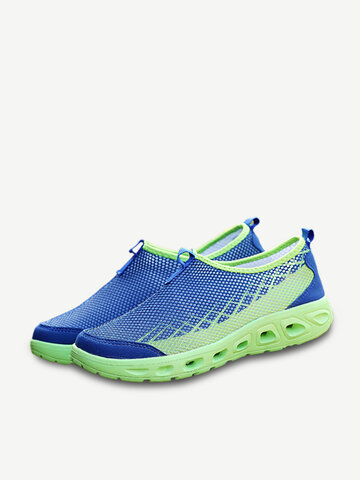 Breathable Mesh Light Weight Slip On Outdoor Sneakers