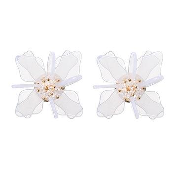 Sweet Acrylic Earrings Beach Holiday Flower Earrings