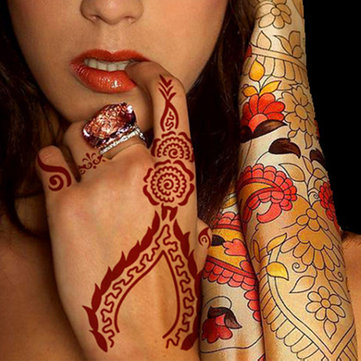Indian Templates Henna Tattoo Stencils