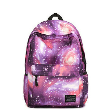 Women Star Dazzle Colour Canvas Backpack