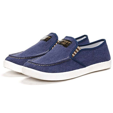 Men Old Beijing Style Canvas Casual Shoes