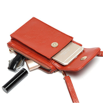 Women Vintage PU Leather Wallet 4.7inch Phone Bag For iPhone Samsung Xiaomi Sony