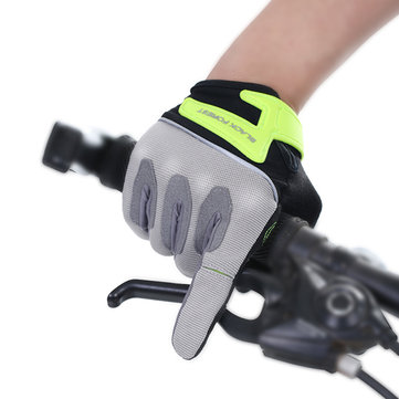 Women Men Outdoor Riding Full Fingers Gloves Breathable Sweat Sports Fitness Gloves