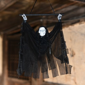 Halloween Props Hanging Ghost Witch Scary Devil Horror Haunted House Bar Halloween Party Events