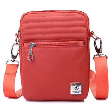 Nylon Waterproof Light Crossbody Bag