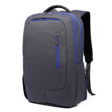 14/15 Inch Nylon Waterproof Laptop Bag With USB Charger Casual Travel Backpack For Men Women