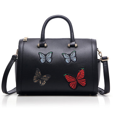 Styllish Butterfly Pattern Creative Handbag Totes Shoulder Bag Crossbody Bags For Women