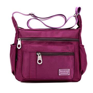 Нейлон Водонепроницаемые сумки Повседневная Спорт на открытом воздухе Легкие сумки на ремне Крестовины для женщин