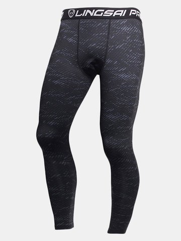 Quick Dry Sports Jogging Tights Gym Pants Bodybuilding Skinny Legging Trousers for Men