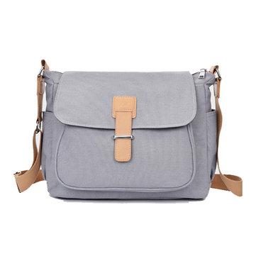 Women Canvas Casual Large Capacity Shoulder Bag Crossbody Bags