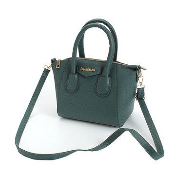 Женщины PU кожаная сумка Vintage матовые наплечные сумки