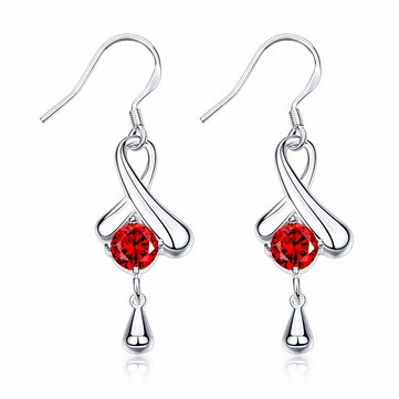 YUEYIN® Infinity Symble Water Drop Zircon Women Earrings