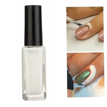 Отшелушивающий Лак Для Ногтей Латекс Против Переполнения Смазочная Жировая Кожа С Защитой Пальцев