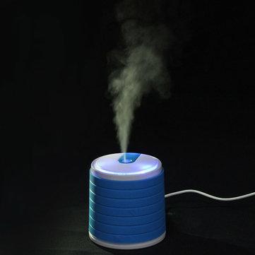 أوسب الأزرق البسيطة المحمولة بالموجات فوق الصوتية لتنقية الهواء المرطب الناشر أسطواني